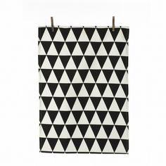 "ferm LIVING Triangle Tea Towel   AllModern   27.55"" x 19.68""   $17.25"