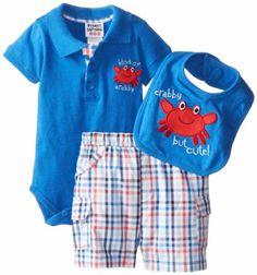 Peanut Buttons Baby-Boys Newborn Boy 3 Piece Crab Shorts Set with Bib, Blue, 3-6 Months Peanut Buttons http://www.amazon.com/dp/B00G30QTGU/ref=cm_sw_r_pi_dp_OLUPtb05SZW931WE