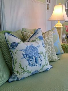 -Biscayne Pastels- Coastal Pillows - Beach Pillows