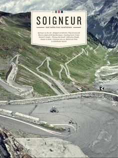 Mgazine cover: Soigneur