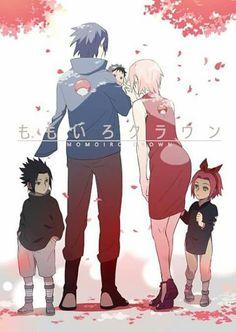 Imagen de couple, anime, and naruto