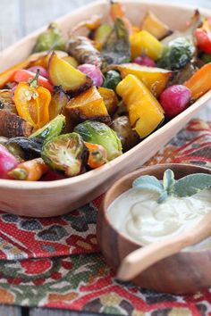 Roasted Vegies with Garlic sauce! We all know vegies are good for us but team it up with some garlic and you will unlock one of the most potent remedies of all time!