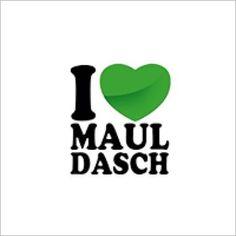 Logo Foodtruck I love Mauldasch by Running Mh