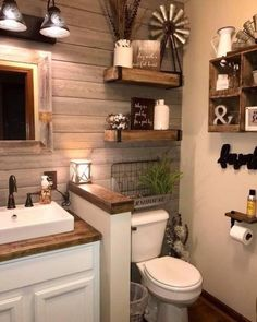 25 Awesome Master Bathroom Ideas For Home. If you are looking for Master Bathroom Ideas For Home, You come to the right place. Below are the Master Bathroom Ideas For Home. This post about Master Bat. Bathroom Small, Bathroom Storage, Bathroom Organization, Barn Bathroom, Simple Bathroom, Bathroom Cabinets, Remodel Bathroom, Master Bathrooms, Design Bathroom