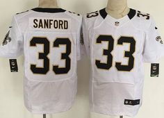 New Orleans Saints Jamarca Sanford ELITE Jerseys