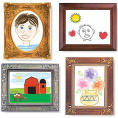 Bloc de dibujo con marco picture frame. Cada hoja viene enmarcada y cuando los niños pintan en su interior, convierten su creación en una ¡Obra maestra!