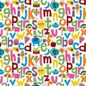 Spoonflower ABCs
