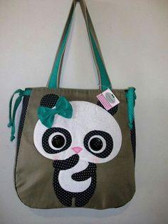 Bolsa panda - Luluzinha bolsas e acessórios
