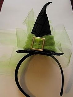 Cute for a little witch costume, and would stay on their head the whole night.