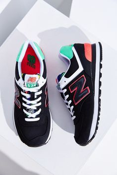 New Balance 574 Pop Tropical Running Sneaker