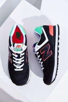 New Balance 574 Pop Tropical Running Sneaker Tenis New Balance 78a3d056d470e