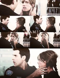 Rookie Blue. Andy and Sam:-)
