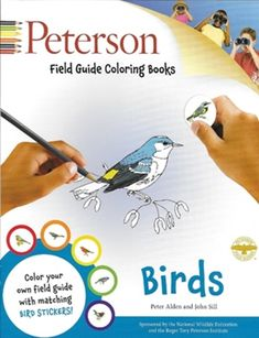 Buy Peterson Field Guide Coloring Books: Birds, ISBN: 0544026926 from Houghton Mifflin Harcourt. Bird Book, Nature Study, Book Format, Field Guide, Book Activities, Book Publishing, Coloring Books, Adult Coloring, Indigo