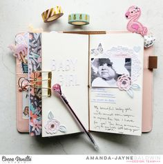 Traveler's Notebook | Love Always | Amanda Baldwin – Cocoa Vanilla Studio