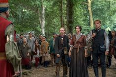 Outlander season 4 finale photo: What's happening with Jamie, Claire? John Bell, Jaime Fraser, Drums Of Autumn, Star Wars, Jamie And Claire, Caitriona Balfe, Outlander Series, Scene Photo, Season 4