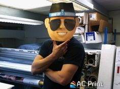 #Card masks modelled by one of our very own staff...but can you guess who?  0800 093 2960  sales@acprintltd.co.uk www.acprintltd.co.uk