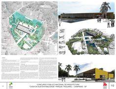 Veja a seguir os projetos premiados, mençõese destaquesdo concurso nacional para Casa da Sustentabilidade, a ser construído no Parque Taquaral, emCampinas/SP. O concurso foi promovido pela Prefe…