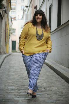 Le blog mode de Stéphanie Zwicky Bbw. Plus size fashion. Big girls with confidence