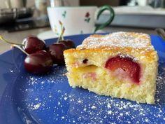 Najlepšia čerešňová bublanina, iný recept nebudete chcieť French Toast, Cheesecake, Breakfast, Food, Basket, Recipes, Morning Coffee, Cheesecakes, Essen