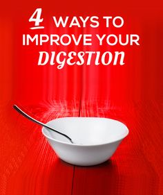 """Check out these 4 ways to improve your digestion! Why should you care? Because """"there are many benefits of a healthy digestive tract: increased energy, improved metabolism, and better digestion."""" Don't stall now when you can become a better you! Healthy Habits, Healthy Tips, Healthy Choices, How To Stay Healthy, Healthy Recipes, Gut Health, Health And Nutrition, Health And Wellness, Health Fitness"""