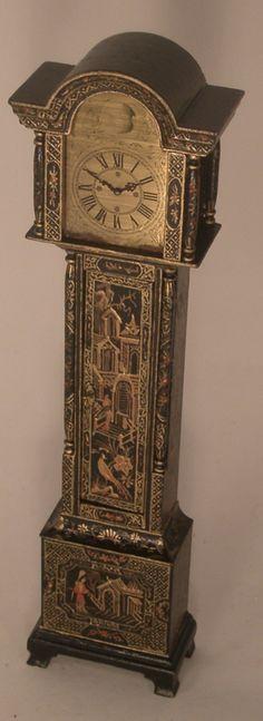 Chinoiserie Tall Case Clock by Natasha