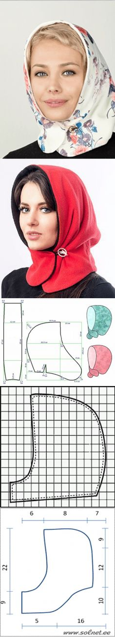 "Headgear of the hood. The idea from the ""all genius is simple."""
