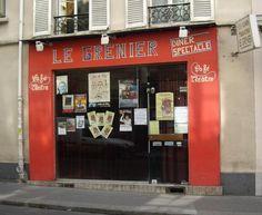 Le Grenier - 152 rue Oberkampf  75011 Paris  Quartier : Père-Lachaise - Ménilmontant Ce petit bar au cœur de la rue Oberkampf propose un programme de concerts de jazz manouches intimistes et invite ses clients les vendredi et samedi de septembre à juin, à déguster un couscous.