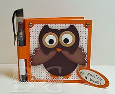 Love Owls!  Super cute card!