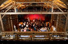 Barns for a wedding at Wolf Trap in Northern Virginia