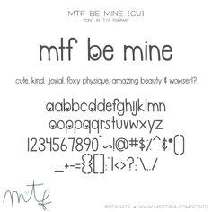 MTF Be Mine {CU}
