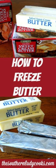 Did you ever wonder how to freeze butter? Butter is one thing I cannot do without since I love baking and cooking. I always stock up when I find a sale.