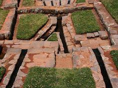 Ancient Inca Aqueducts at Tipón