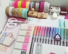 Staedtler, stickers and washi tapes