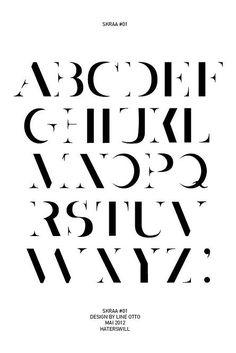 Actualité / Une typo pleine de contrastes / étapes: design & culture visuelle