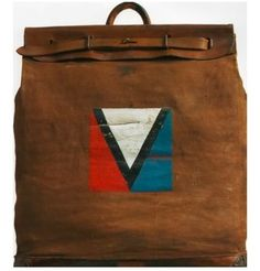 The personal bag of Gaston-Louis Vuitton, 1901