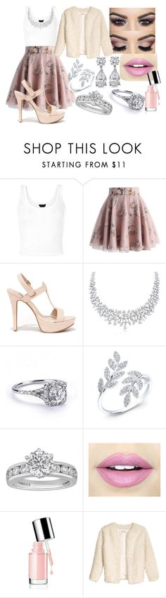 """""""C.C.C"""" by marianela2002 on Polyvore featuring Belleza, Chicwish, Anne Michelle, Tiffany & Co., Fiebiger, Christmas, city y CelebrityStyle"""