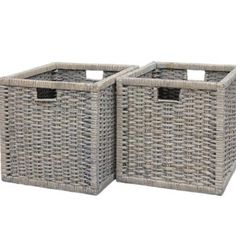 We can't get enough of this gorgeous grey colour. These perfect storage baskets are only £29 with free delivery too