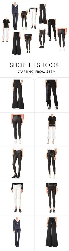 """Ladies  fashion@@@@"" by ramakumari ❤ liked on Polyvore featuring Brandon Maxwell, Baja East, T By Alexander Wang, Alexander Wang, RtA, J Brand, L'Agence, Thierry Mugler, Cushnie Et Ochs and vintage"