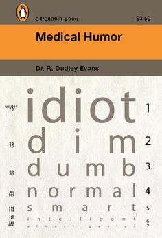 Madison Dunn: Medical Humor Penguin Book Cover (2011) by b_caruthers, via Flickr