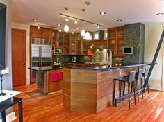 Mukilteo Style - contemporary - kitchen - seattle - Sellentin True Design Build