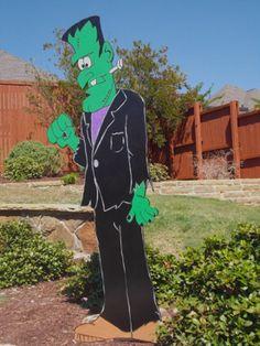 Frankenstein Yard Art