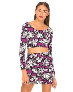 875d8a1ef01ff Women s Embellished   Printed Tops - Motel Rocks