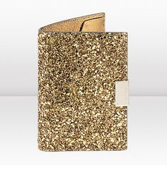 Jimmy Choo. Reno glitter passport cover. #fashion #travel