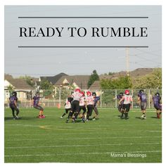 Athlete's Football Fortitude Ready To Rumble, Daily Devotional, Football Players, Blessings, Athlete, Dolores Park, Blessed, Golf, Club