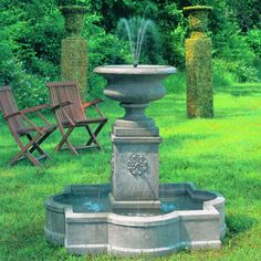 Free Shipping and No Sales Tax on the Palazzo Urn Outdoor Water Fountain from the Outdoor Fountain Pros.