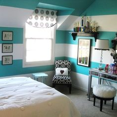 Teen Girl's Room Design Ideas, Pictures, Remodel, and Decor - page 2