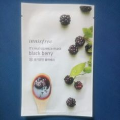 Buy 1 For S$1.80 5 For S$8.00 10 For S$15.00  Innisfree - Real Squeeze Masks in Singapore,Singapore. Blackberry mask The super food blackberry gives your skin protection to make it more healthy. Get firm and elastic skin with the Blackberry It's Real Squeeze!  Chat to Buy