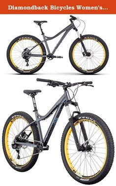 """Diamondback Bicycles Women's Rely 27.5 Plus Hardtail Mountain Bike, 15.5""""/Small, Silver. The popularity of our all-mountain hardtail series has been growing for a few years, with people of all abilities and riding styles drawn to a combination of great traction, do-it-all geometry, and fun. With the introduction of 27.5 plus wheels, we felt it was high time for a women's 02-17-2271 to join the fleet: the rely. Designed to be that one bike that you can take anywhere, it's a quick machine…"""