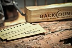 Backcountry Brew Company Business Cards