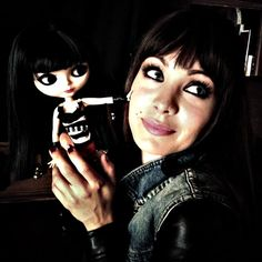 Ksenia Solo with her Mini-Me! Lost Girl